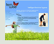 Brochure website, femwise.co.uk